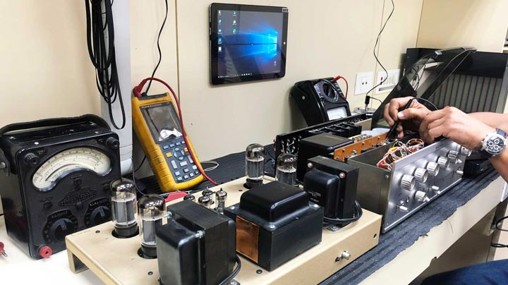 Reparación de equipos de audio