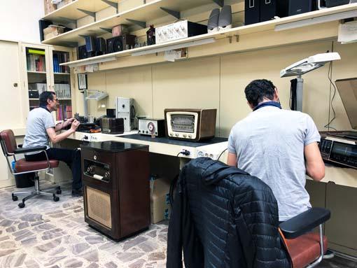 Reparación de radios antiguas